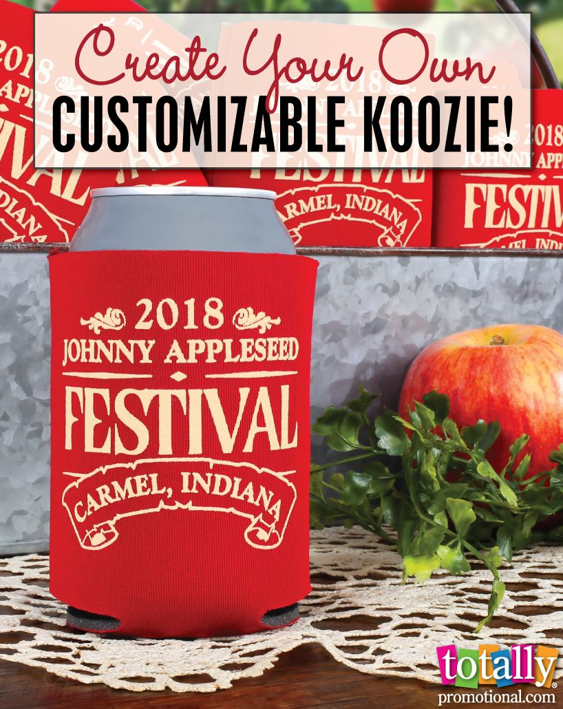 Create Your Own Customizable Koozie We Offer Hundreds Of Stock Art Designs For Koozies These Are Perfect For A Give Away F 50th Party Koozies Family Reunion