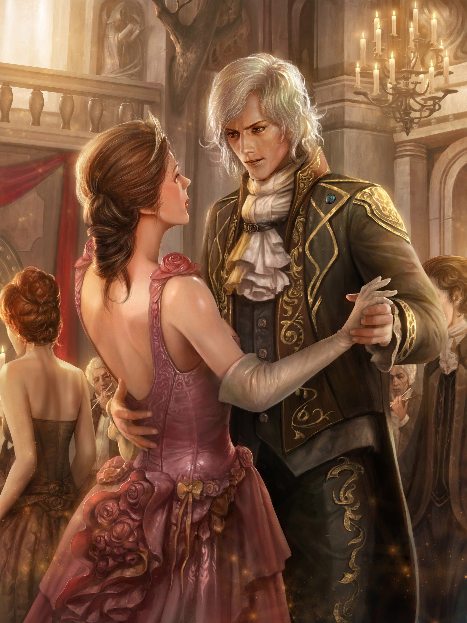Картинки к любовному фэнтези