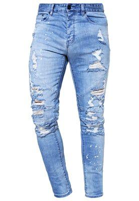 037872656bd8 Cayler   Sons Jeans Tapered Fit - distressed light blue white - Zalando.de