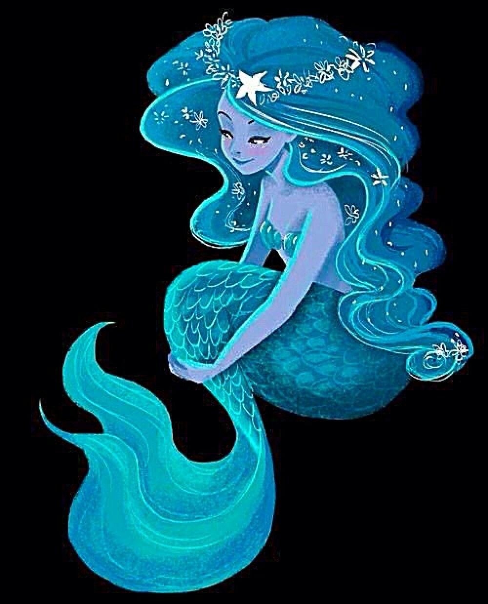 Волшебные прически русалки