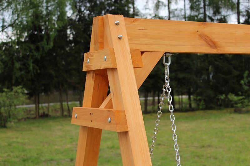 Hustawka Ogrodowa Drewniana 3 Osobowa Producent 8116451927 Allegro Pl Swing Set Diy Outdoor Wooden Swing Diy Playground