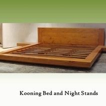 A Place On Island Makes Furniture This A Platform Style Bed With