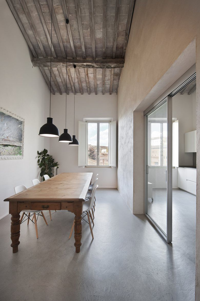 Double Level Apartment Renovation In Siena Picture Gallery