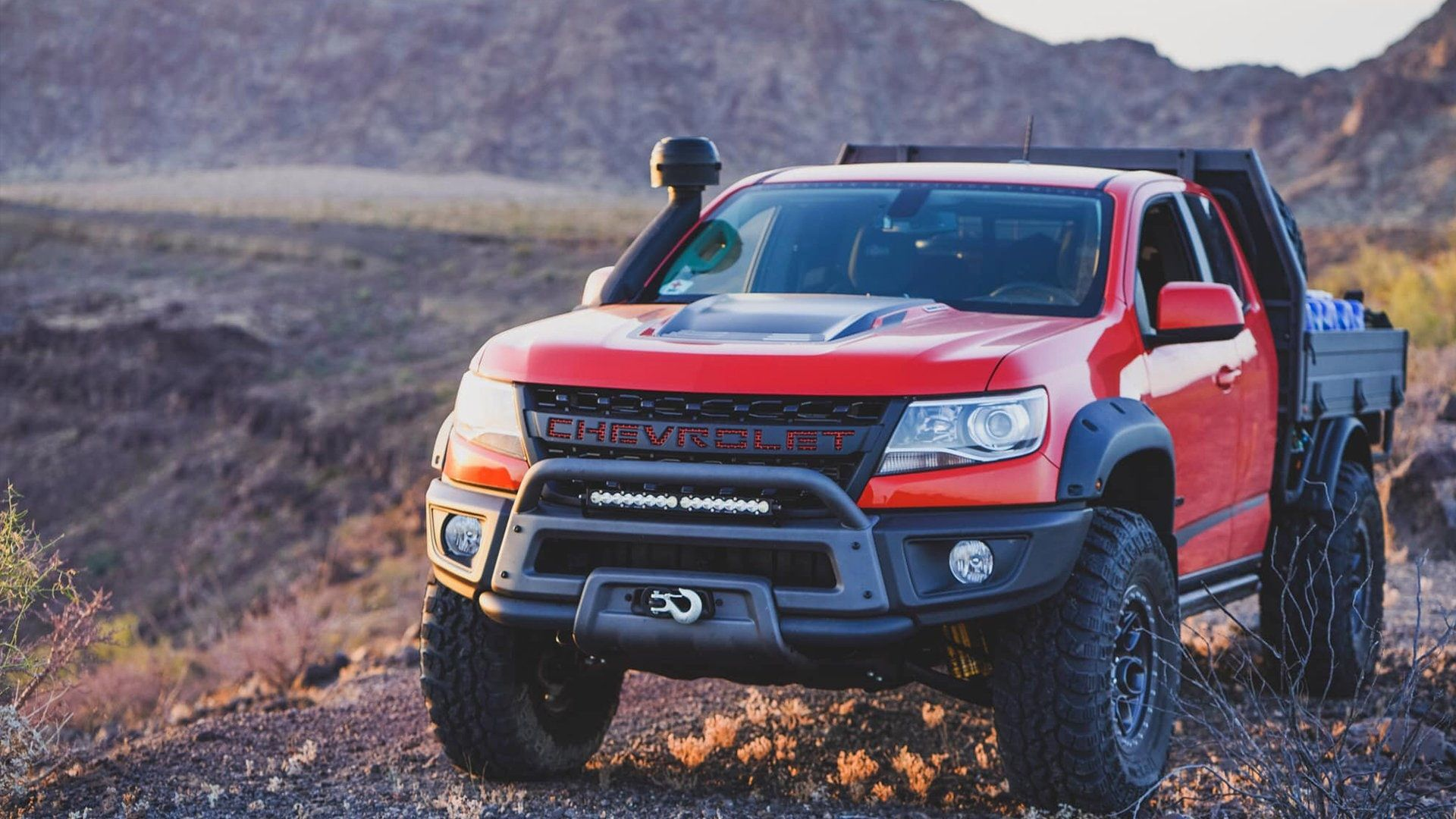 2019 Chevy Colorado Zr2 Bison Tray Bed Concept Is An