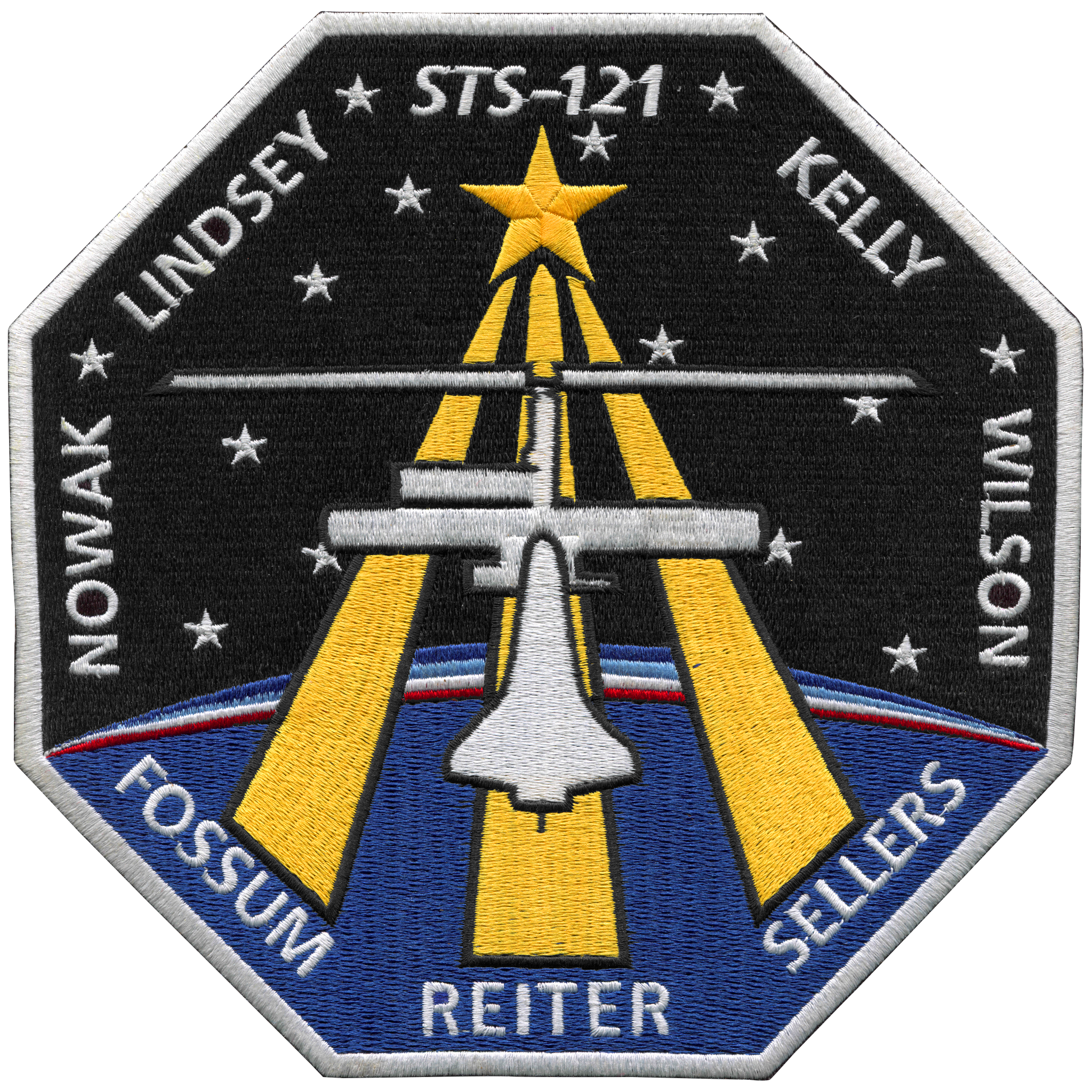 STS-121 Back-Patch | Astronomy, Patches, Space shuttle