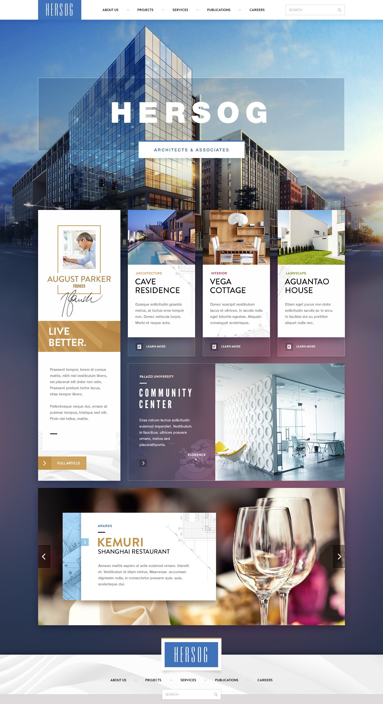 Cool #web #design - nice use of photographic background and overlaid boxes