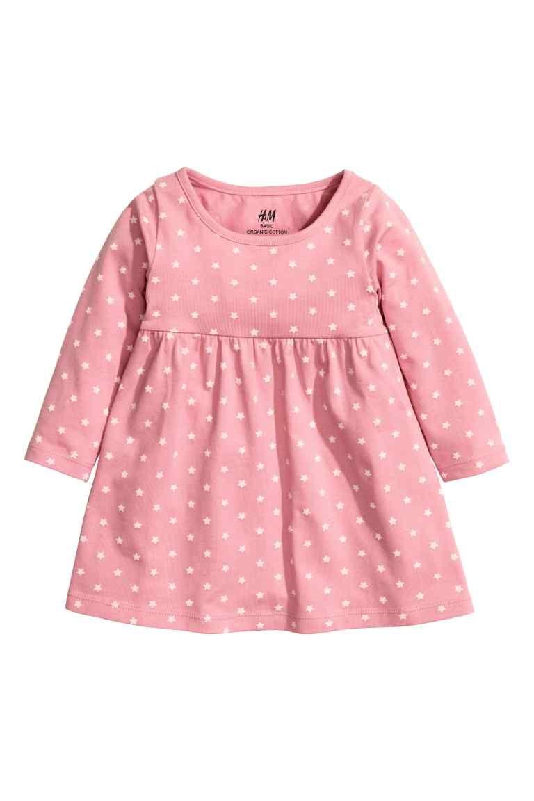Vestido em jersey | H&M | shops | Pinterest | Moda infantil ...