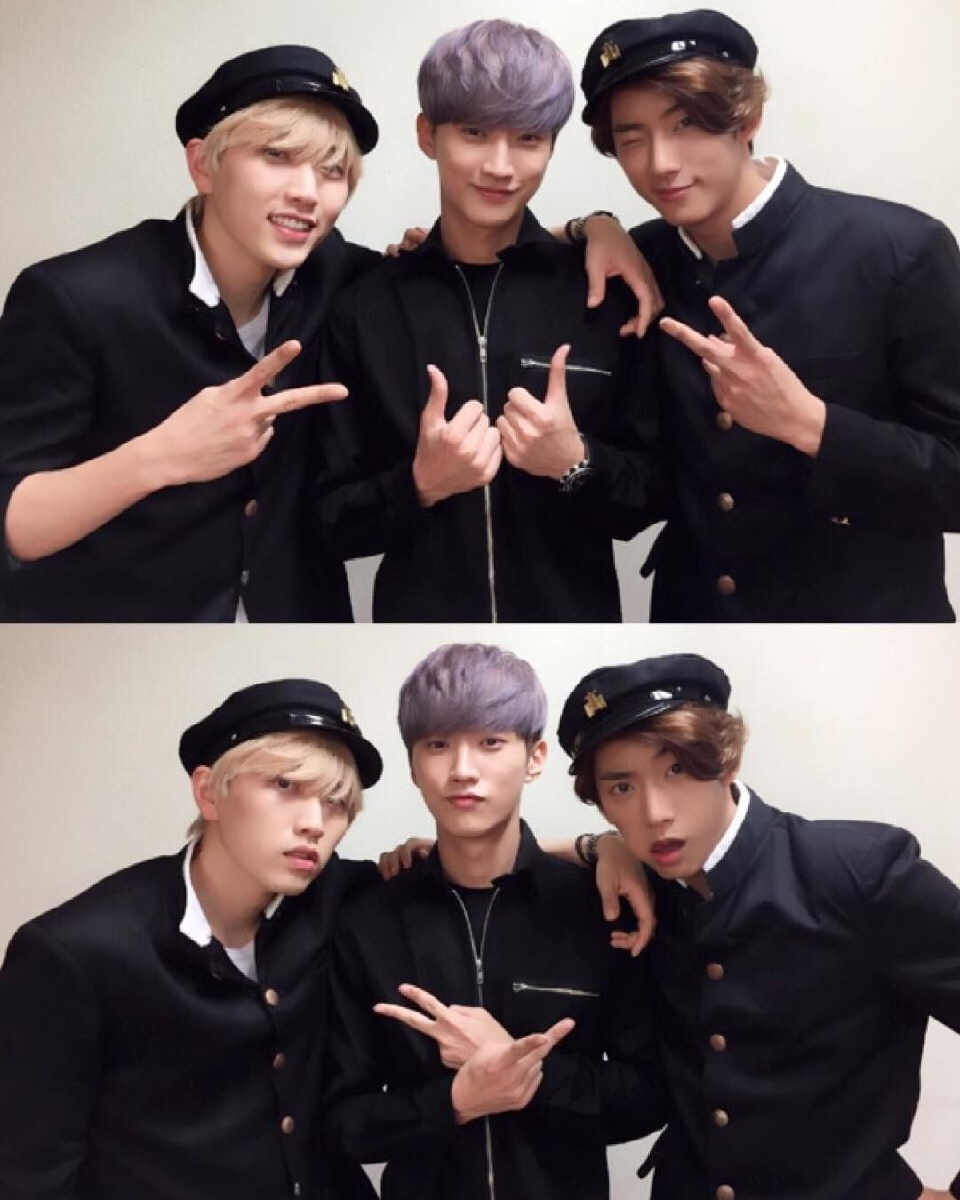 Sandeul, Jinyoung, Gongchan // B1A4