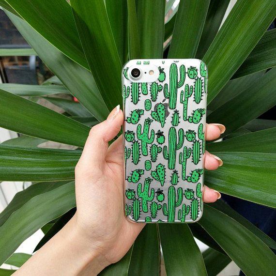kaktus handyh lle f r iphone 7 7 plus 5 5 s 5c und iphone 6 und 6 plus erh ltlich bei etsy. Black Bedroom Furniture Sets. Home Design Ideas