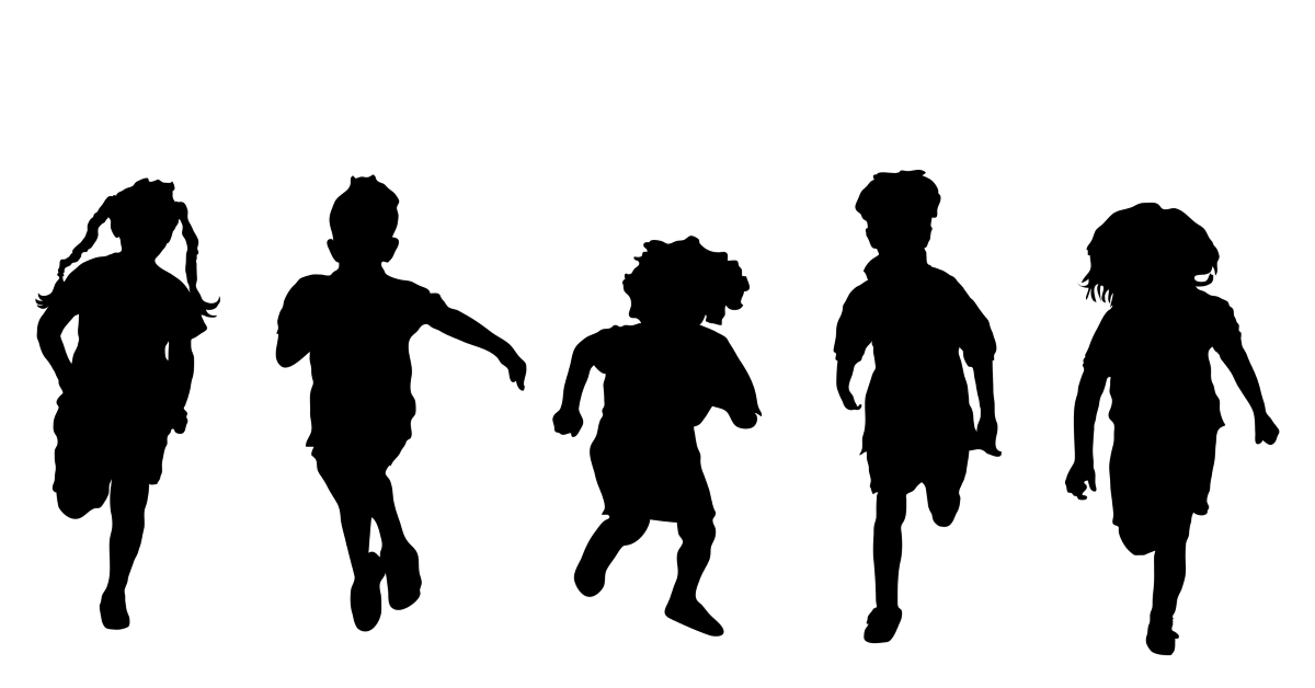 My Grandchildren Make Me A Kid Again I Could Play With Them All Day Maybe With A Nap In The Middle We Make Each O Kids Silhouette Silhouette Silhouette Png