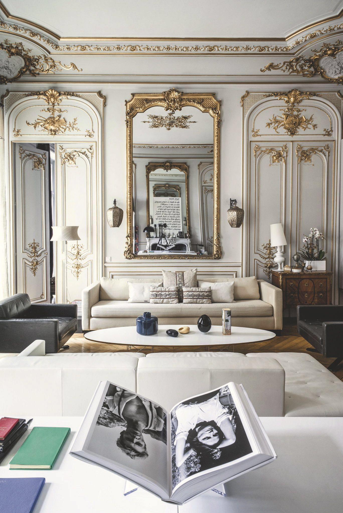 Agencement salon moderne : 10 déco inspirantes | Interiors, Living ...