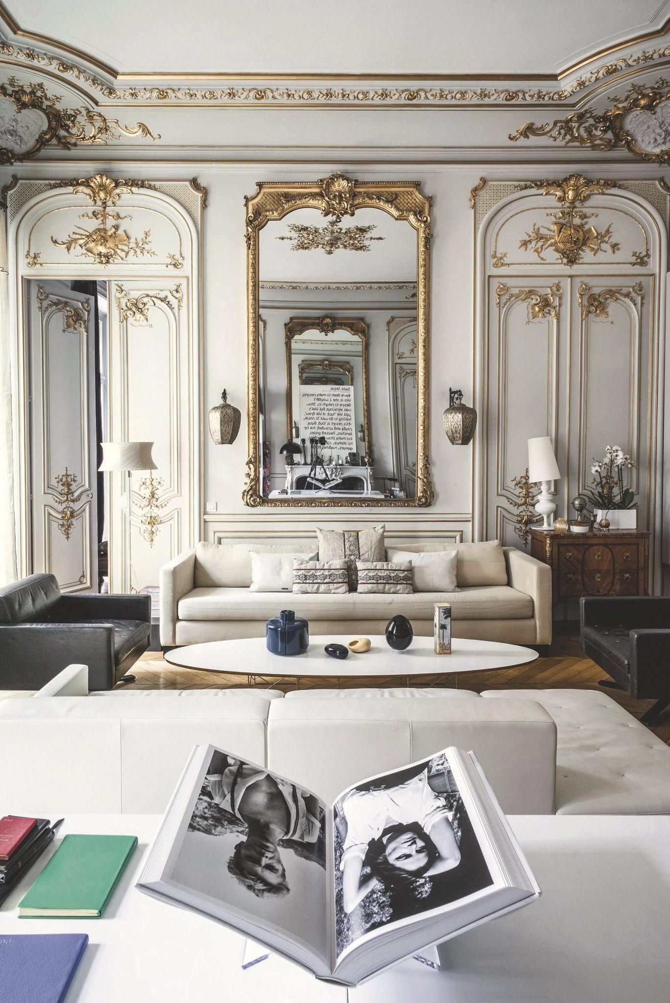 Agencement salon moderne 10 d co inspirantes id please for Pareti salone