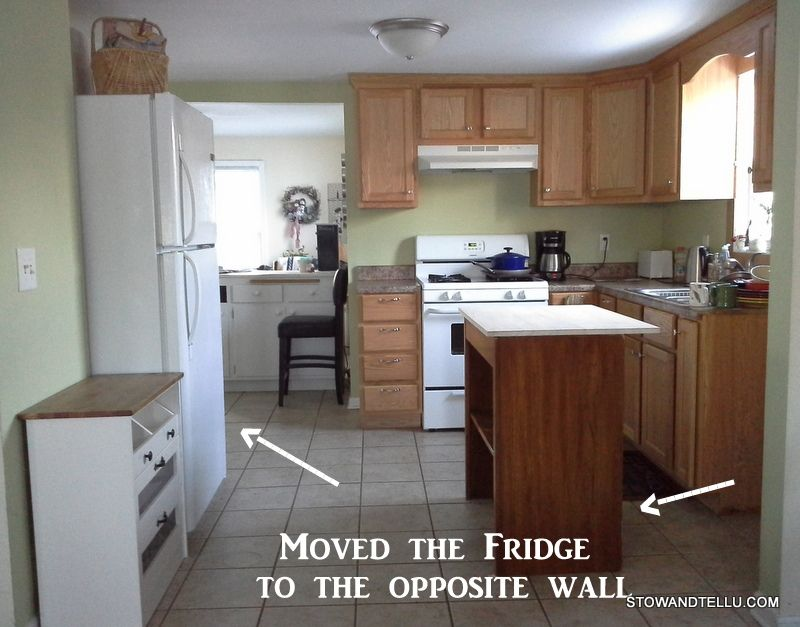 How To Create Extra Counter Space In A Kitchen Without Remodeling Kitchen Design Small Kitchen Layout Kitchen Countertops