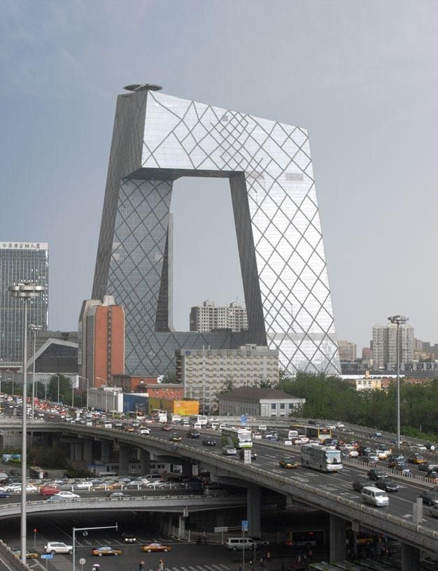 Worlds Best Architect oma's beijing cctv headquarters named world's best skyscraper