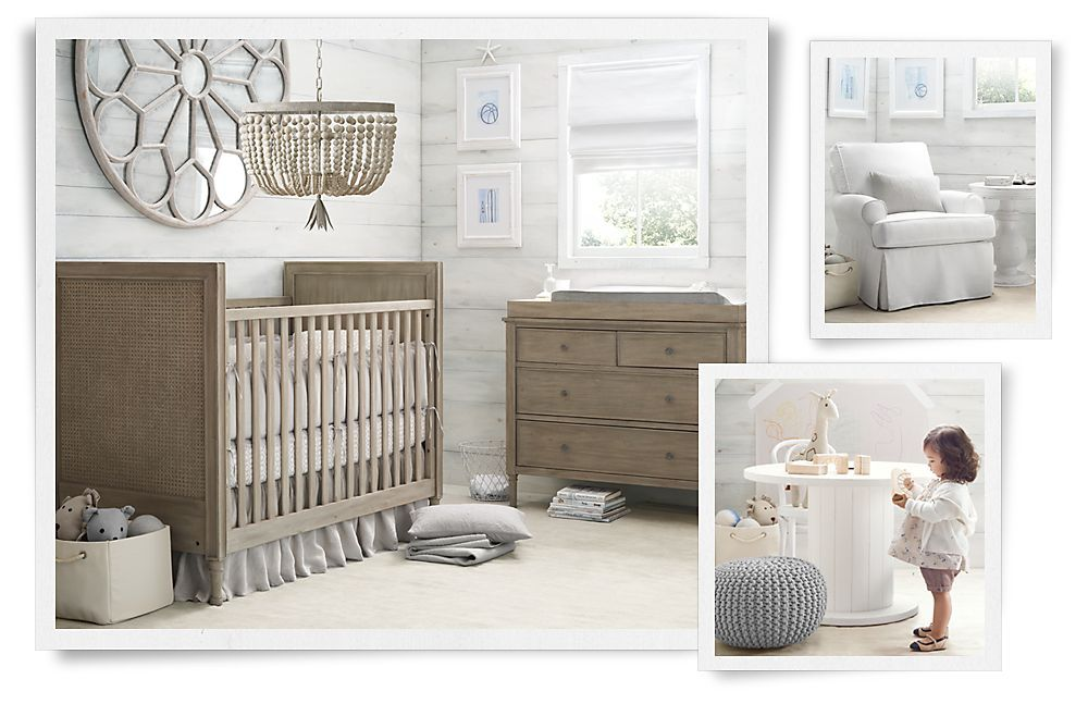 LOVE THE WALLS. I AM GOING TO DO THIS IN ONE OF MY ROOMS....Rooms | Restoration Hardware Baby & Child
