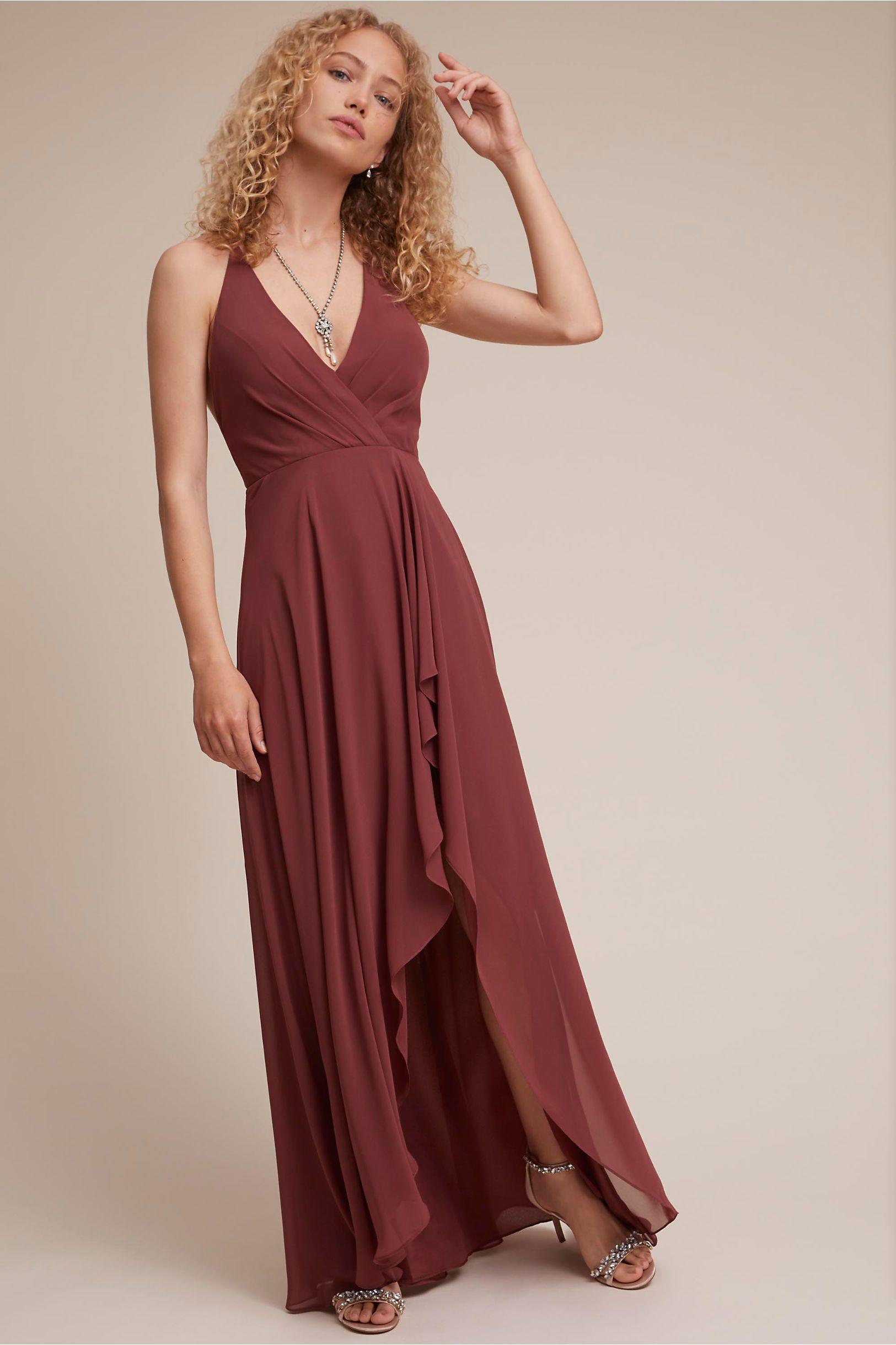 a31b0f229d BHLDN s Jenny Yoo Farrah Dress in Cinnamon Rose