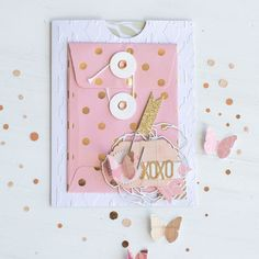 XOXO CARD by Jamie Pate - Stamp & Scrapbook EXPO