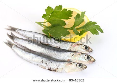 anchovies with lemon and parsley by rossella, via ShutterStock