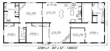 32 X 80 Mobile Home Floor Plans 32 X 76 Mobile Home Floor Plans Home Plan And House Design Ideas Mobile Home Floor Plans Floor Plans Indian House Plans