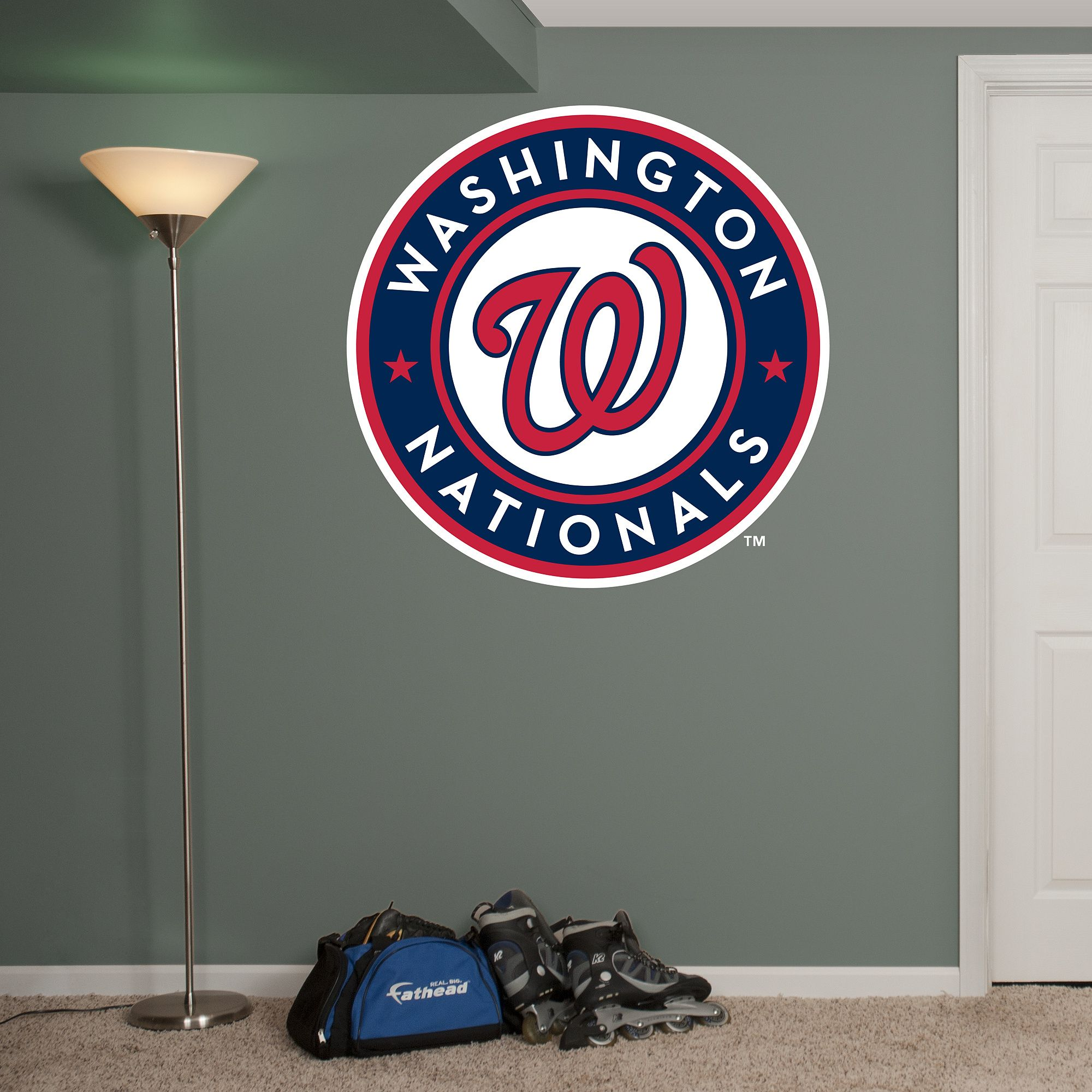 Washington Nationals Logo Giant Officially Licensed Mlb