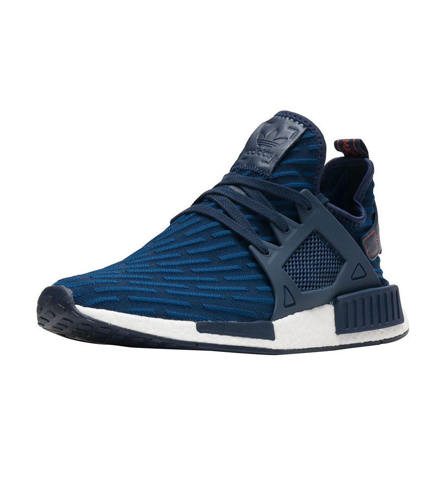 New Men's ADIDAS Originals NMD XR1 PK Primeknit - BA7215 Navy White Red DS