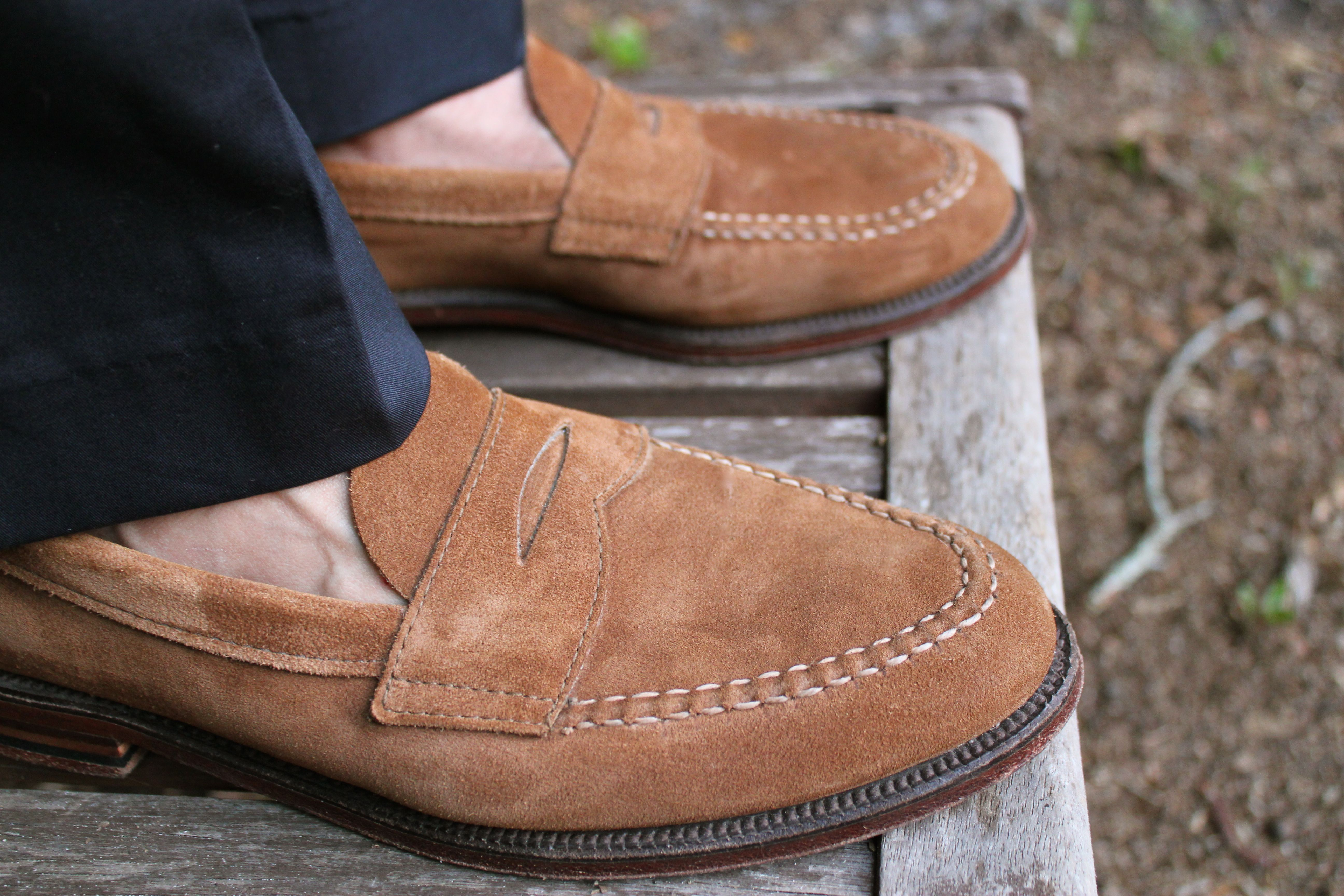 One of our favorite summer shoes, the Alden handsewn ...