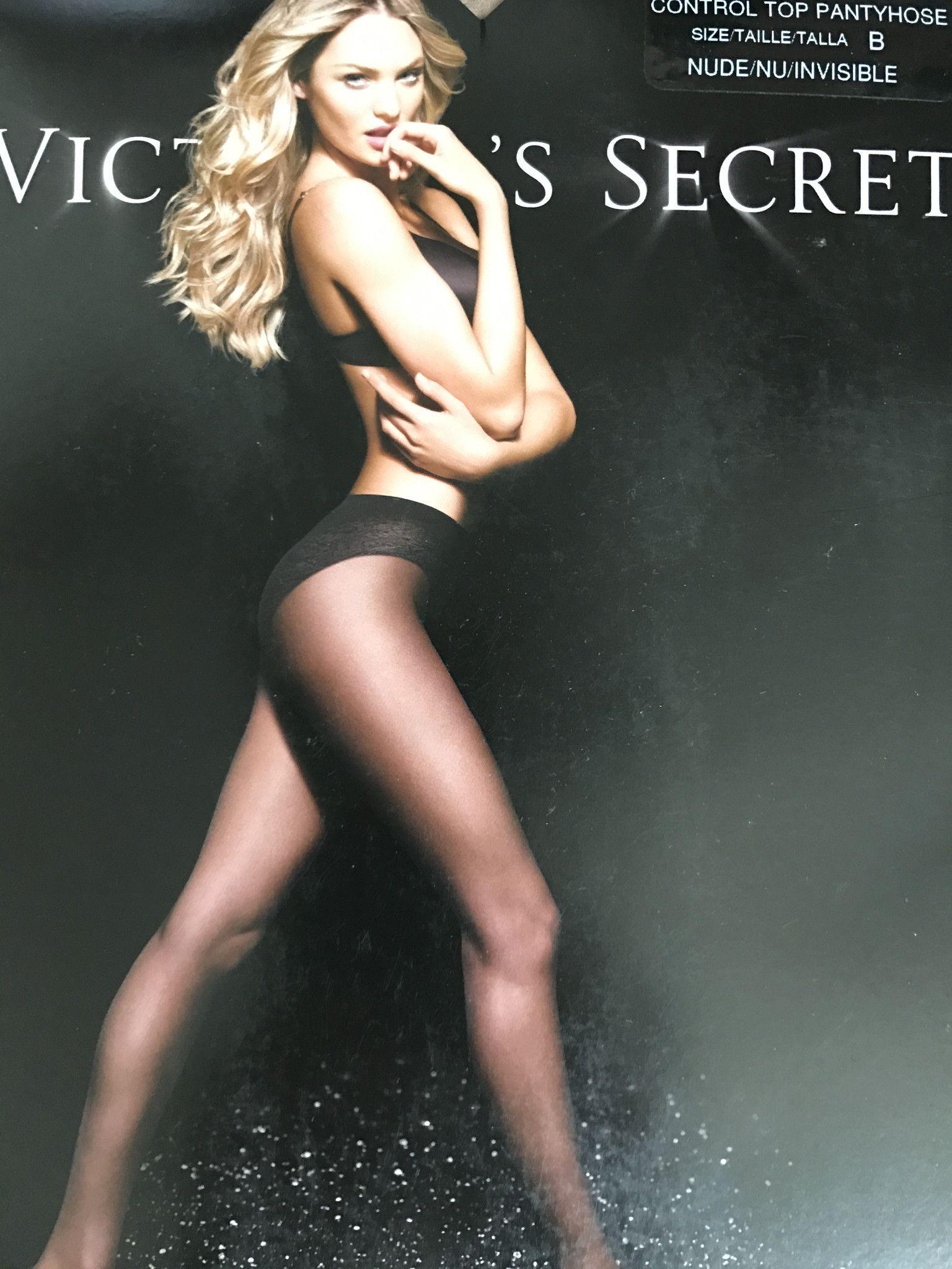 Victoria's Secret Nude Control Top Pantyhose