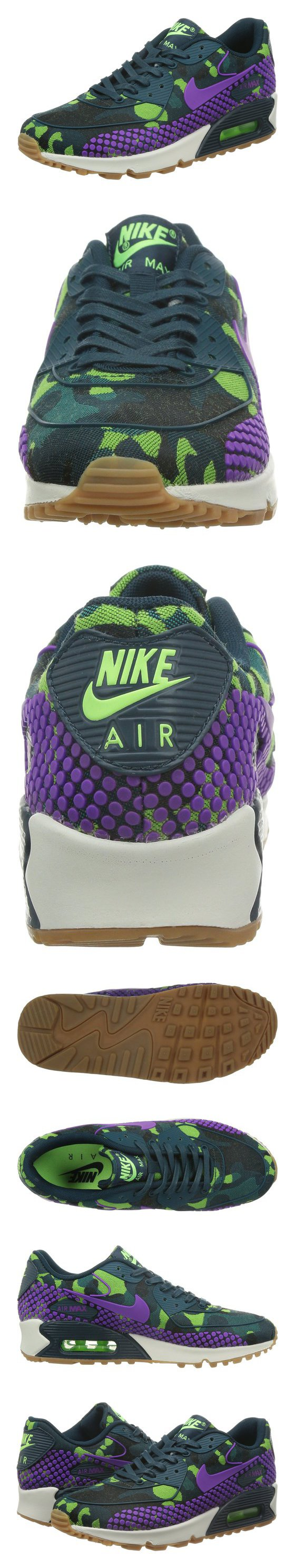 90 Nike Women's Wmns Air Max 90 JCRD PRM TEAL/VIVID