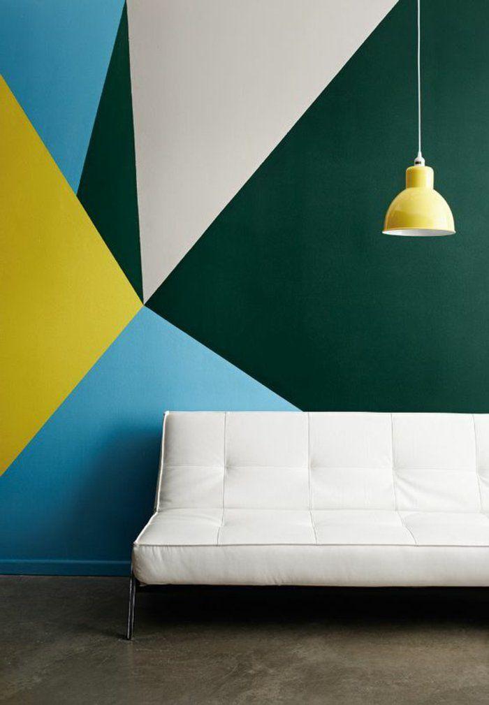 1001 id es pour votre peinture murale originale peintures murales peinture glyc ro et murale for Peinture murale originale