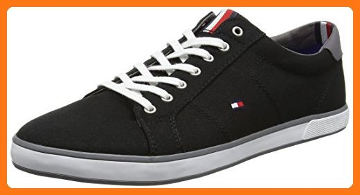 Tommy Hilfiger Herren H2285arlow 1d Low Top Schwarz Black 990 42 Eu Partner Link Tommy Hilfiger Schuhe Sneaker Schuhe