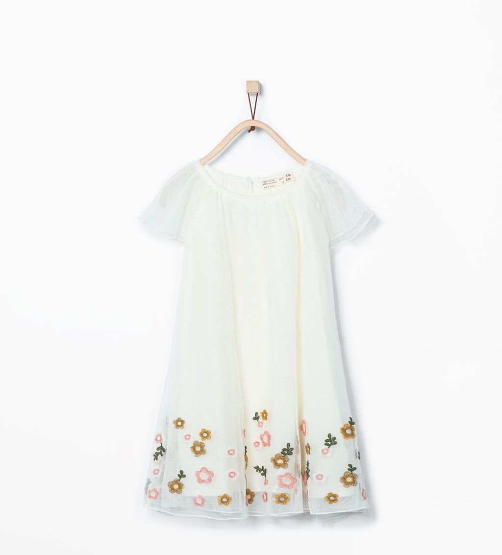Tempat Jual Osella Woman Look Away Embroidered Stripe Sweater White Chocochips Elaine Dress Navy M Flowers Tulle View All Dresses Girl 3 14 Years