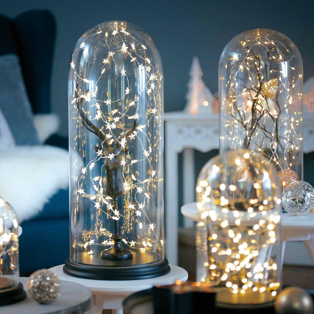 hier eine kleine idee wie du eine lichterkette sch n in. Black Bedroom Furniture Sets. Home Design Ideas