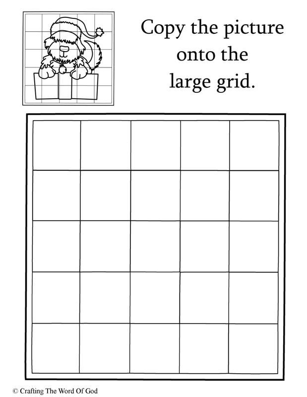Copy The Christmas Puppy Activity Sheet Activity Sheets For Kids Christmas Angels Bunny Activities