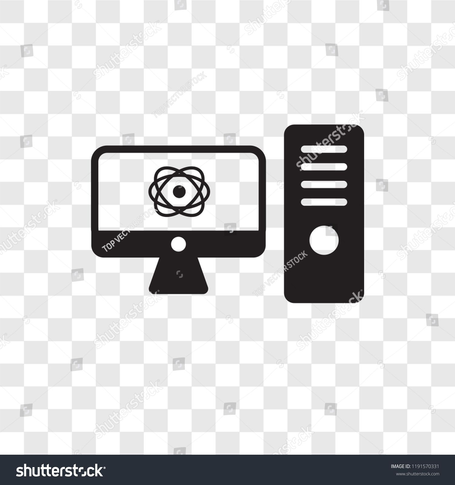 Educational Platform Vector Icon Isolated On Transparent
