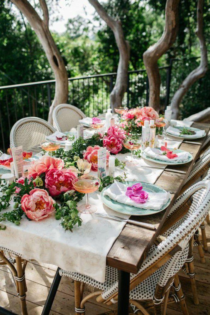 Gartenparty deko 50 ideen wie sie ihr fest sch ner machen gartengestaltung garten und - Gartenparty deko tipps ...