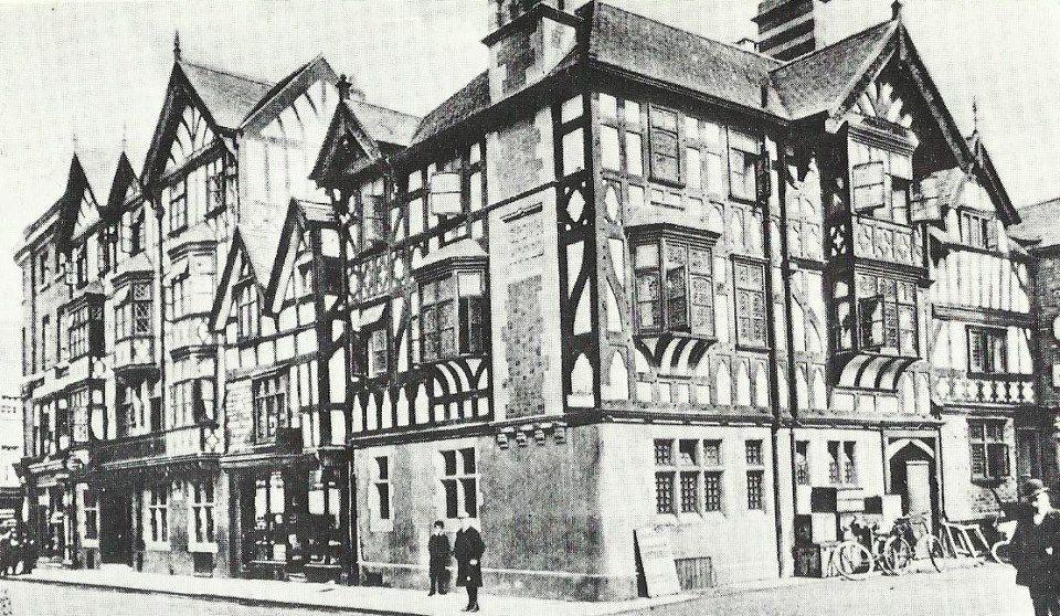 Crown Hotel 1908 Shrewsbury Shroshire Shrewsbury Shropshire Beautiful Places