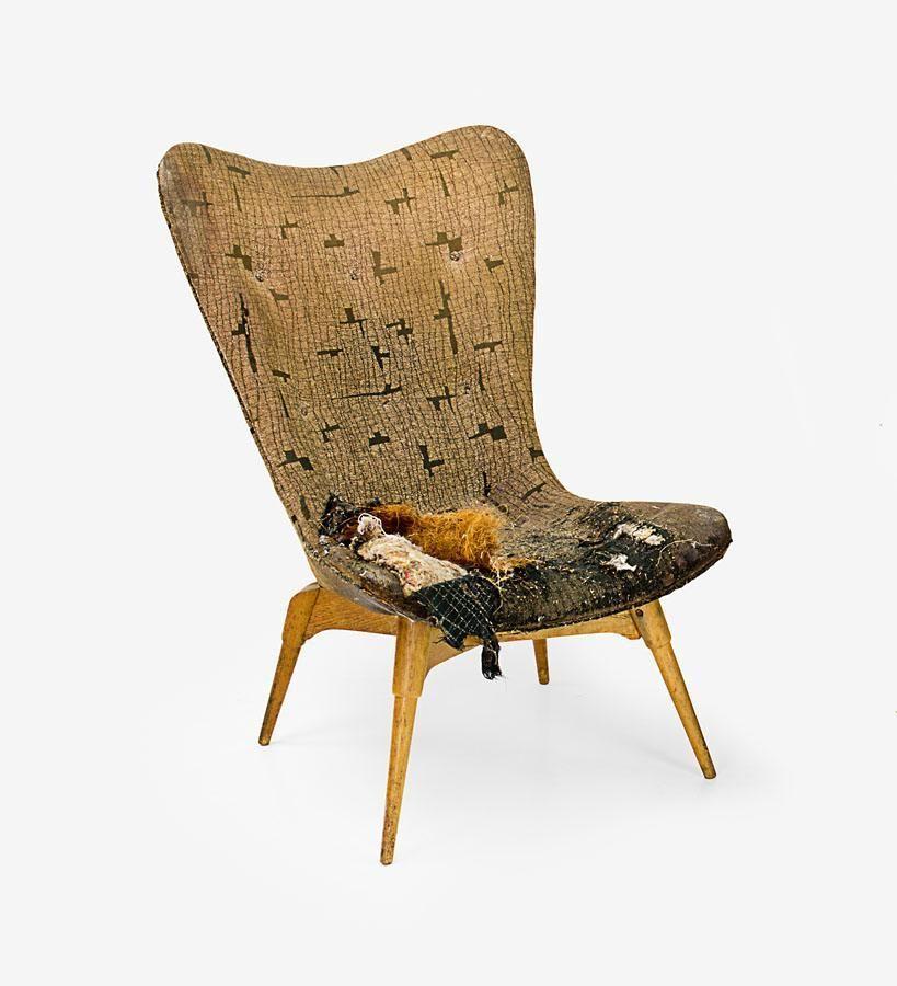 Bob Roukema Lounge Chair For Jon Jansen 1950s