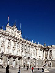 Madrid Palacio Real, Madrid. Spain