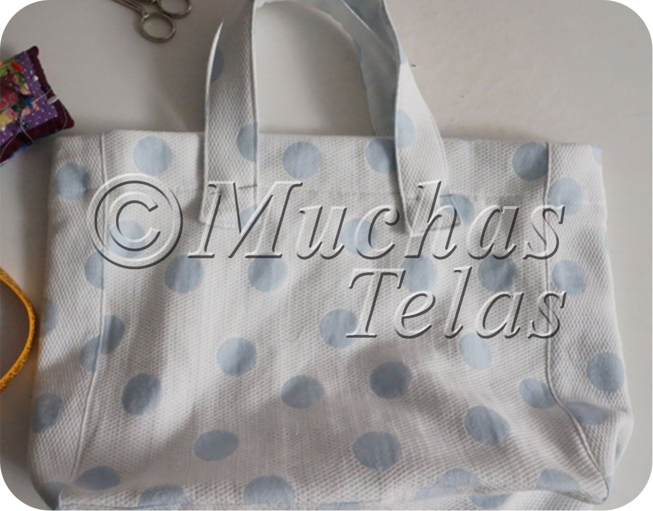 Práctica bolsa de fácil confección - Blog de Muchas Telas