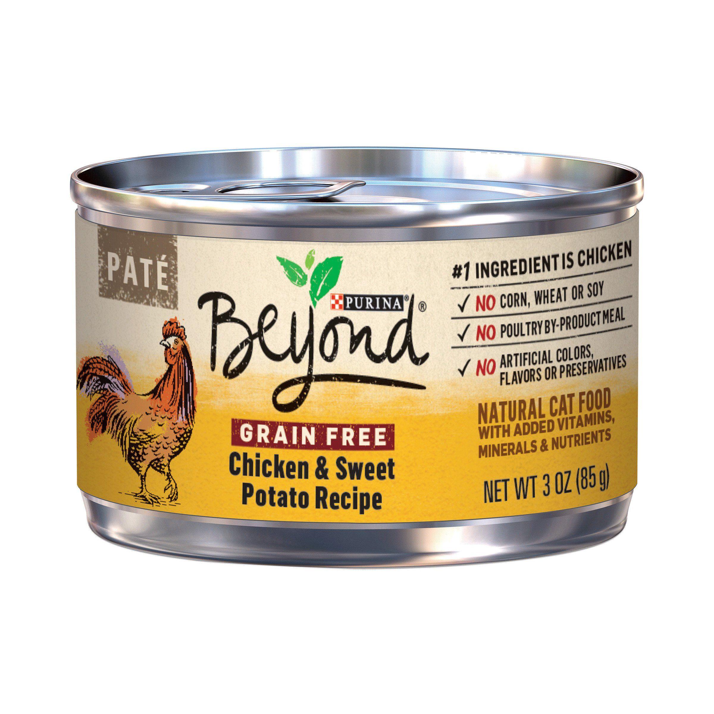 Purina Beyond 12247941 Pate Chicken and Sweet Potato