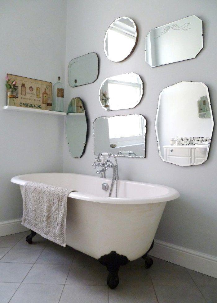 Vintage mirrors.   house diy   Pinterest   Bilderrahmen und Spiegel