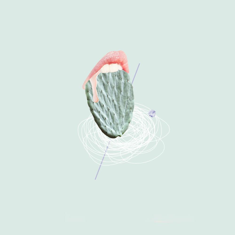 CA BOUCHE / collage / isabell thrun