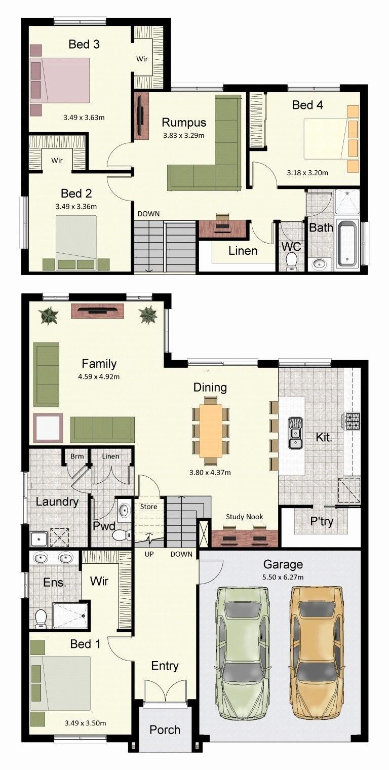 4 Bedroom Split Level Floor Plans Unique The Split Level Home Stylish And Practi Split Level House Plans House Roof Design House Plans Australia