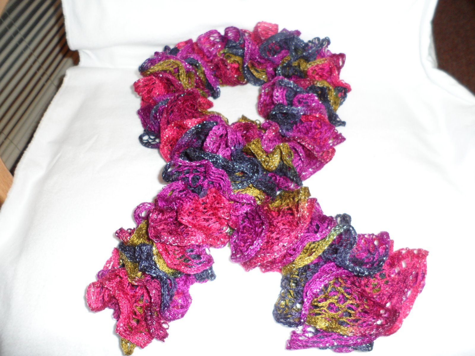 Ruffle Scarf Crochet Pattern Best Inspiration Ideas