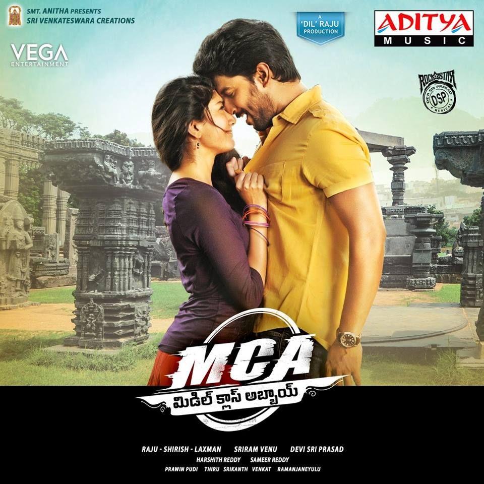 Mca New Poster Nani Saipallavi Tollywood Vega Entertainment Vegaentertainment Streaming Movies Middle Class Songs