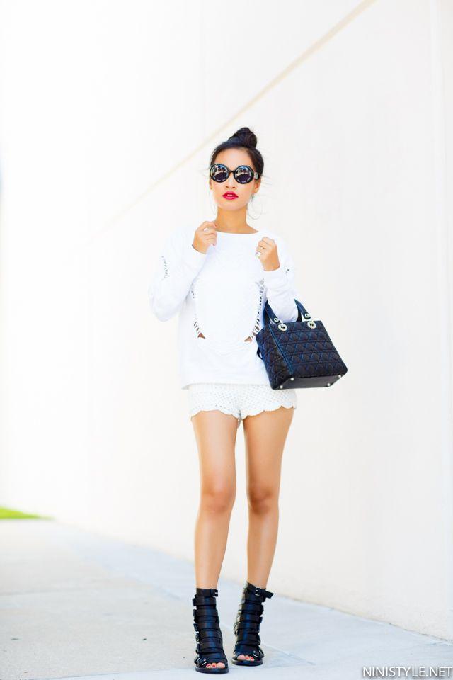 WHITE ON WHITE | Nini's Style