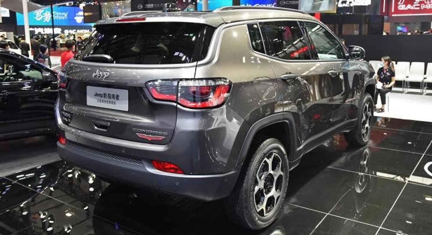 جيب كومباس 2022 بالجيل المتجدد مقصورة عصرية وتحديثات خارجية طفيفة موقع ويلز Jeep Jeep Compass Suv Car