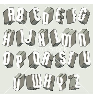 3d font - Google Search | Ted Ideas | Pinterest | Fonts
