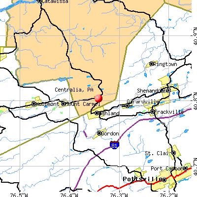 Centralia Pa Map centralia pa | Centralia, PA map | Centralia PA | Centralia