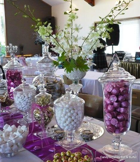 Wedding Candy Buffet Ideas: Wedding Reception Candy Bar Ideas